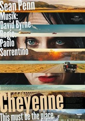 "Filmplakat: ""Cheyenne - This must be the place"""